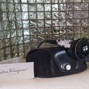Salvatore Ferragamo Sheild Sunglasses